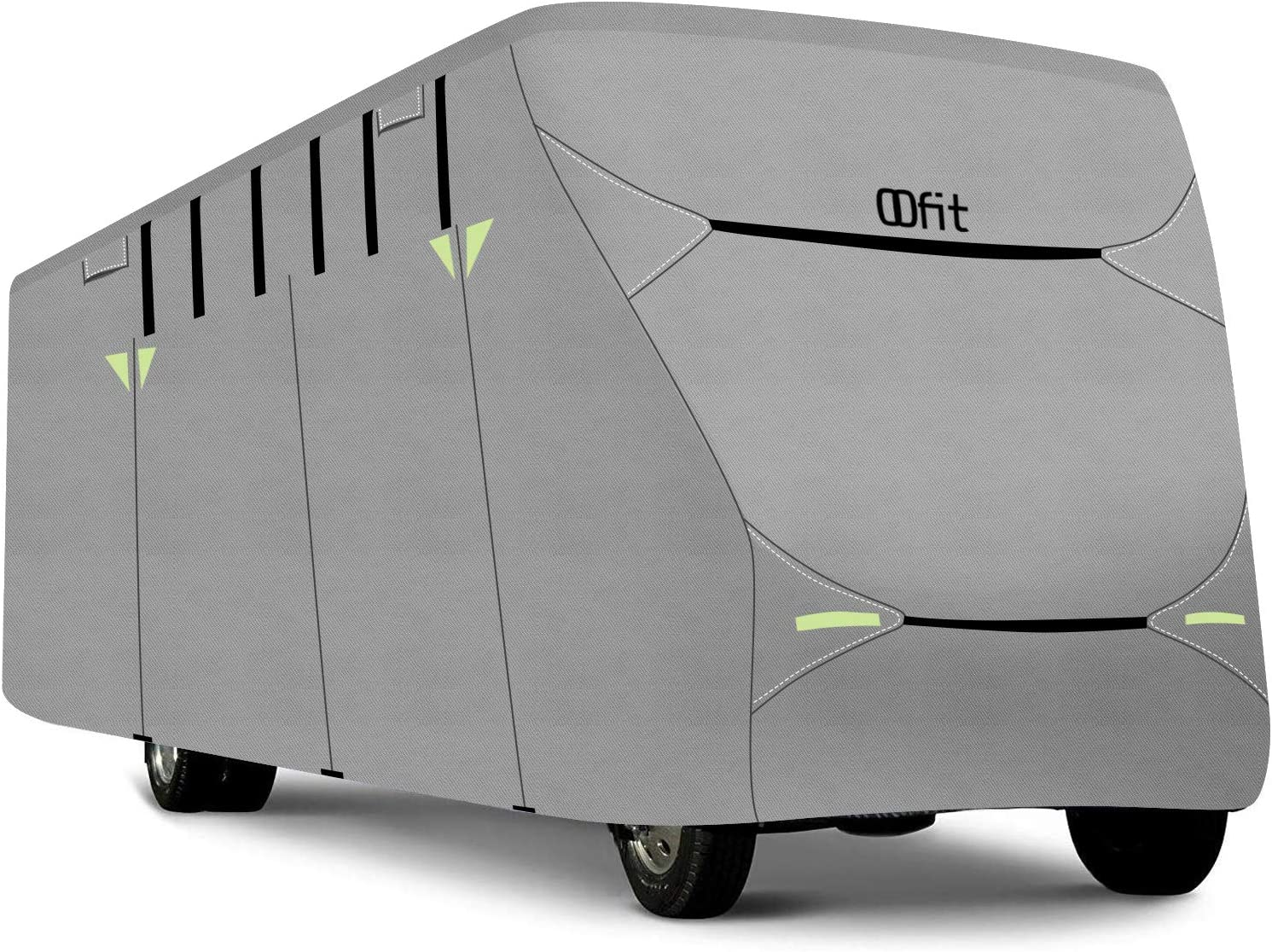 OOFIT Deluxe Class C RV Cover, Fits 29' - 32' RVs - Max Weather Protection with 4-Ply Poly Fabric Roof Motorhome Cover
