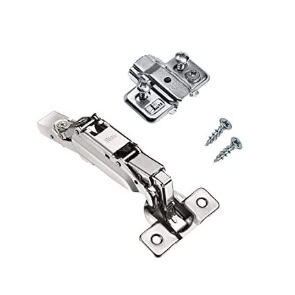 Rok Titus Kitchen Cabinet Hinge With 0mm Mounting Plate 170 Degree