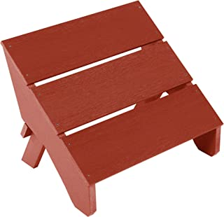 product image for highwood AD-OTL2-RED Barcelona Modern Folding Ottoman, Rustic Red