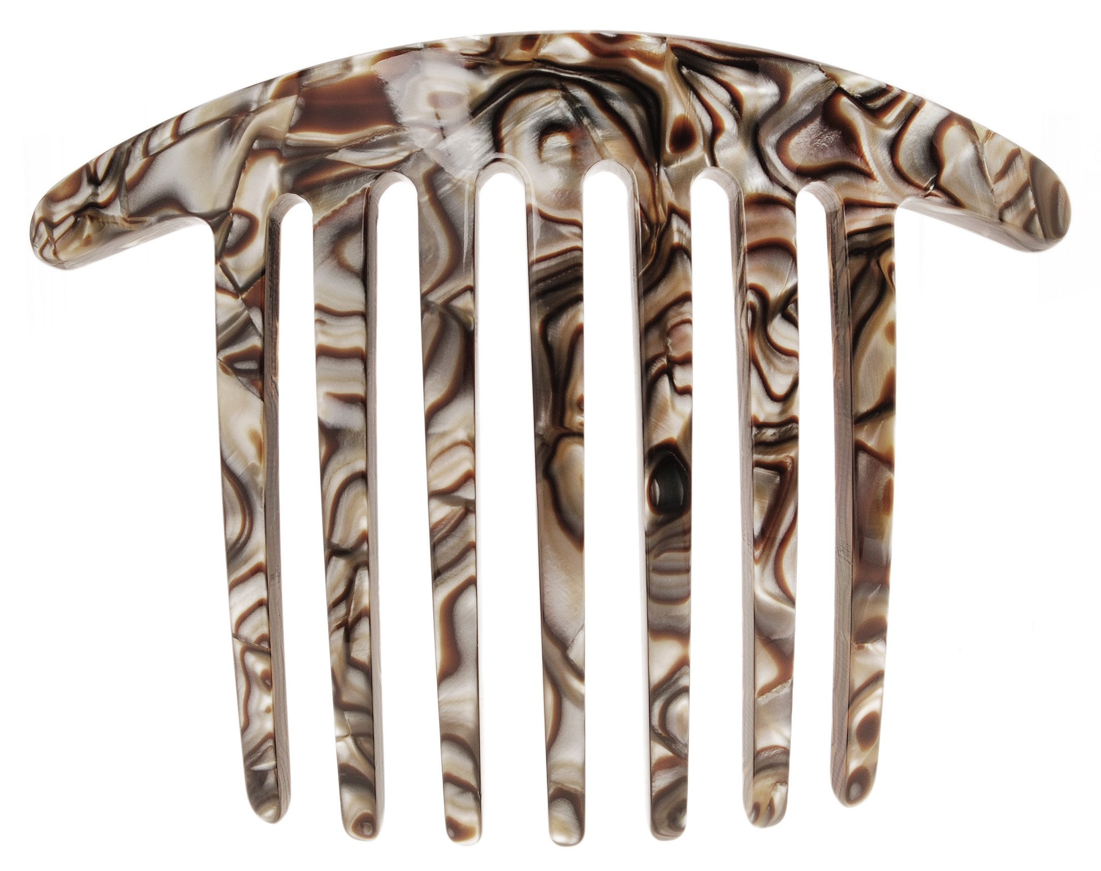 France Luxe Handmade French Twist Comb - Onyx