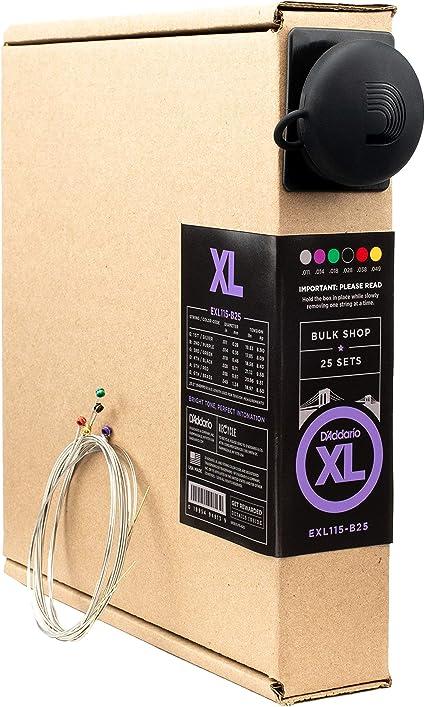 DAddario EXL115-B25 - Juego de cuerdas para guitarra eléctrica de ...