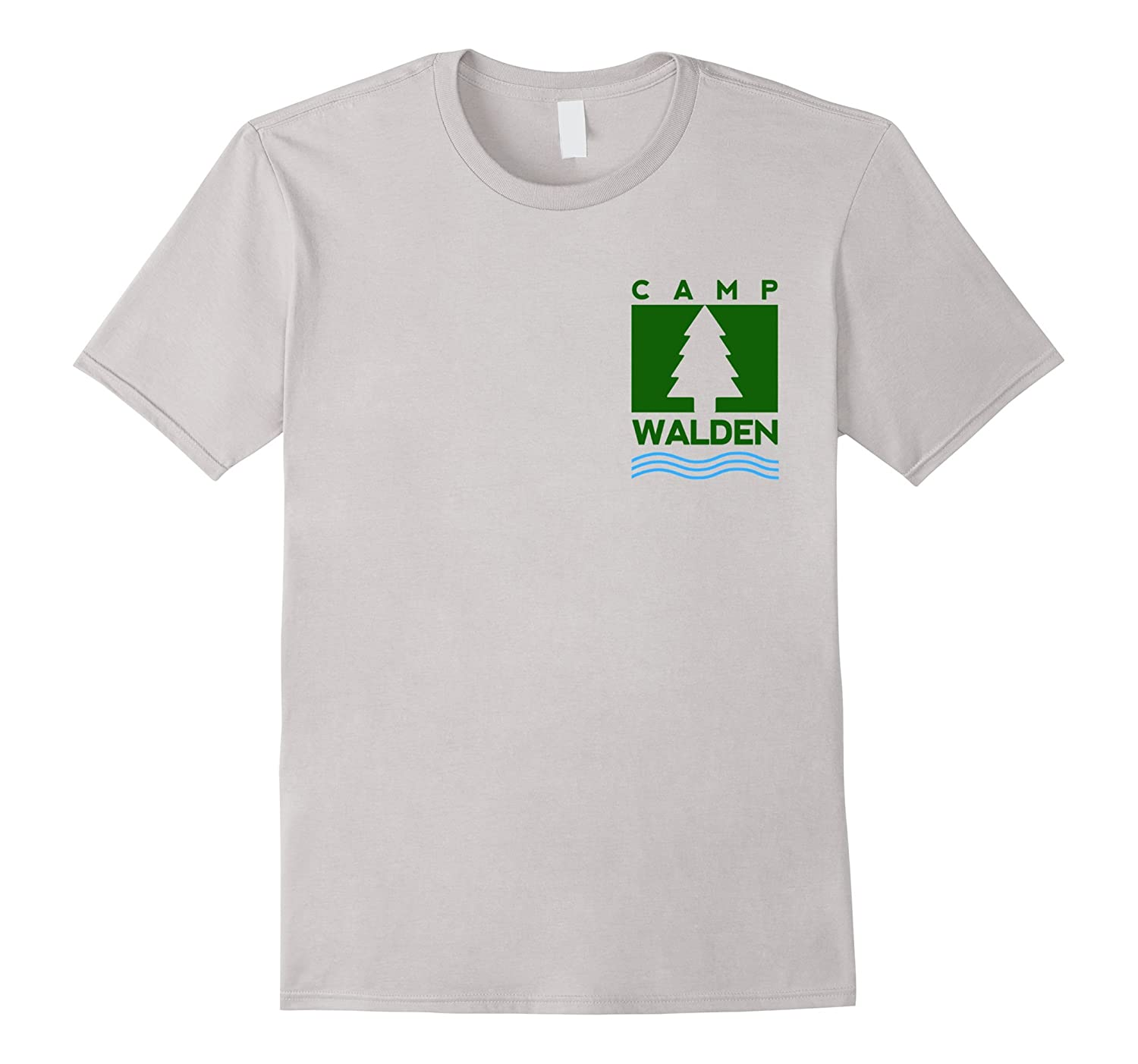 Camp Walden Pocket T-Shirt | Girls Summer Camp Tee-T-Shirt