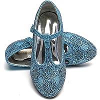 ELSA & ANNA® Última Diseño Niñas Princesa Reina de Nieve Partido Zapatos Zapatos de Fiesta Sandalias BLU22-SH