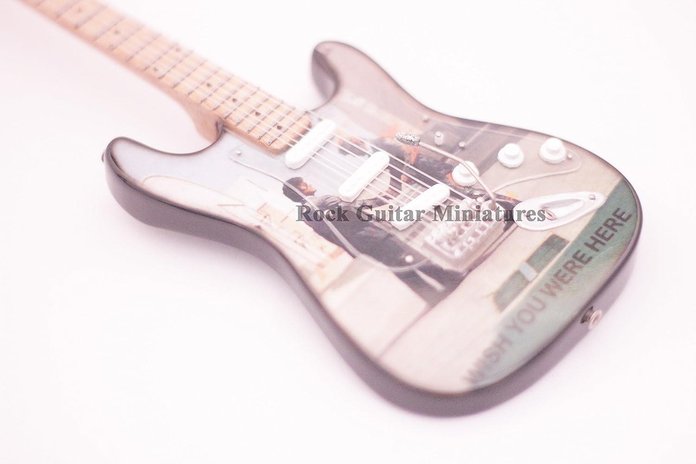 rgm261 Pink Floyd Wish You Were Here Guitarra en miniatura: Amazon ...