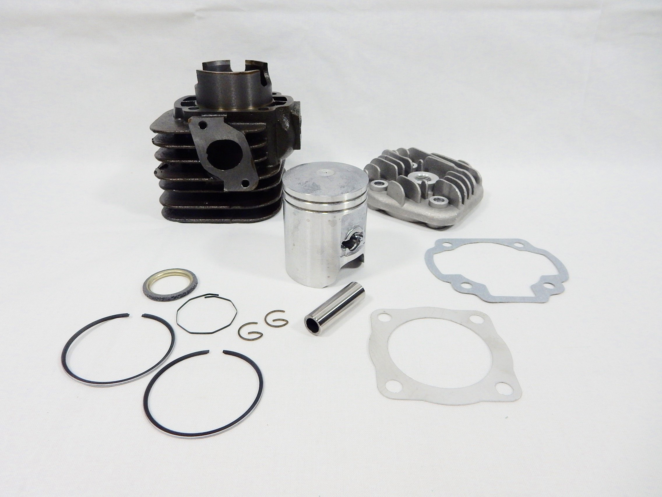 90cc 2 Stroke Big Bore Kit (12mm Wrist Pin) Scooter Minarelli JOG ZUMA 1E40QMB GY6 STORE by GY6 Store