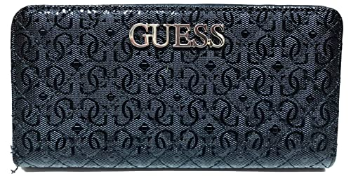 Guess Wilona SLG Large Zip Around Wallet Black: Amazon.es ...