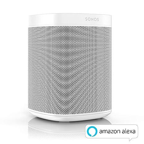 Sonos One Smart Speaker, weiß – Intelligenter WLAN Lautsprecher mit Alexa  Sprachsteuerung & AirPlay – Multiroom Speaker für unbegrenztes ...