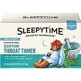 Celestial Seasonings Wellness Tea, Sleepytime Throat Tamer, 20 Count
