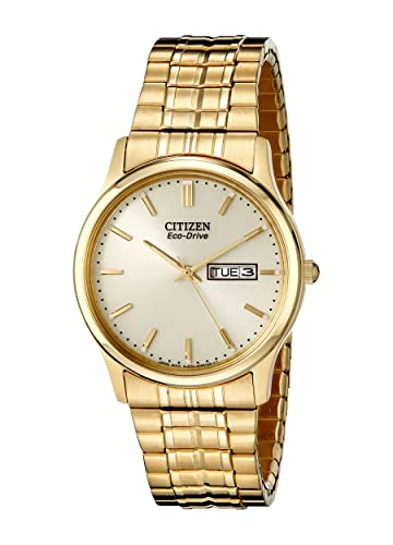 Citizen Men S Eco Drive Expansion Band Watch With Day Date Bm8452 99p