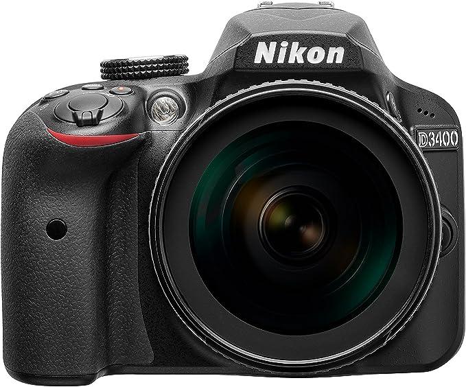 Nikon D3400 Cámara 1:3,5 – 5,6 G, ED, VR: Amazon.es: Electrónica