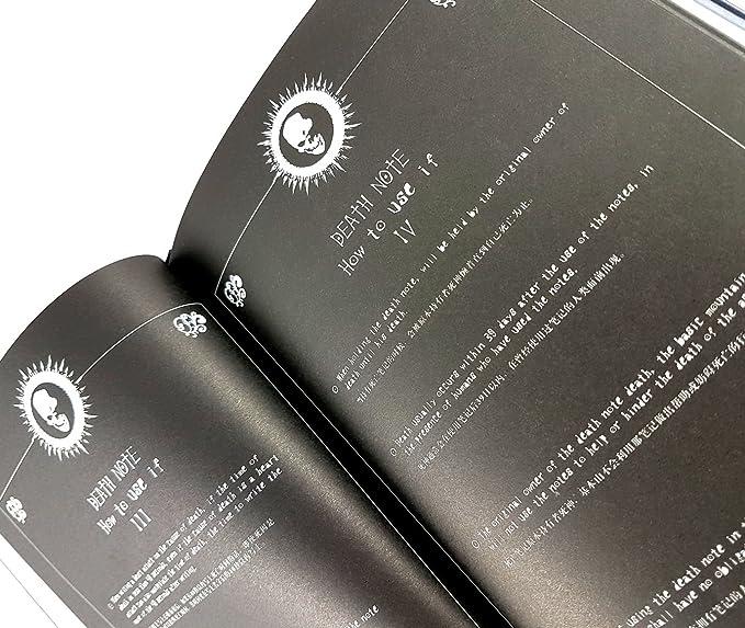 Katara Death Note Cuaderno Light Yagami Manga-Libro De La Muerte Con Pluma-Cosplay, color negro (1732)