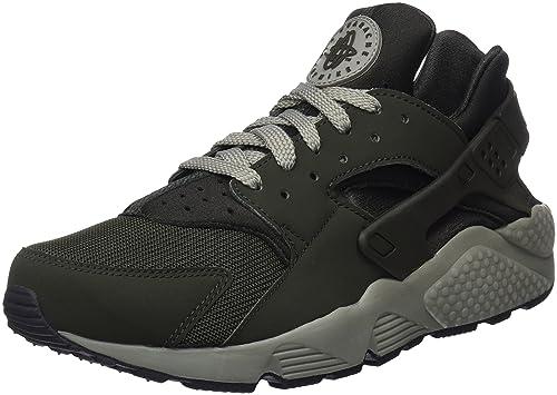 73212b54bffd NIKE Herren Air Huarache Run Sneaker, Grün Sequoia Dark Stucco bl 311,