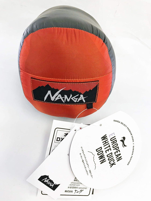 ナンガ (NANGA) オーロラlight (オーロラライト) 450DX レギュラー 赤 + IDホイッスルキィリンク付 日本製