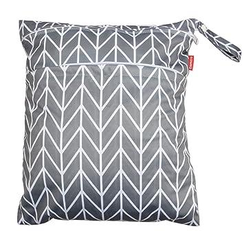 Wet Dry Bag Travel Diaper Organiser With Handle T