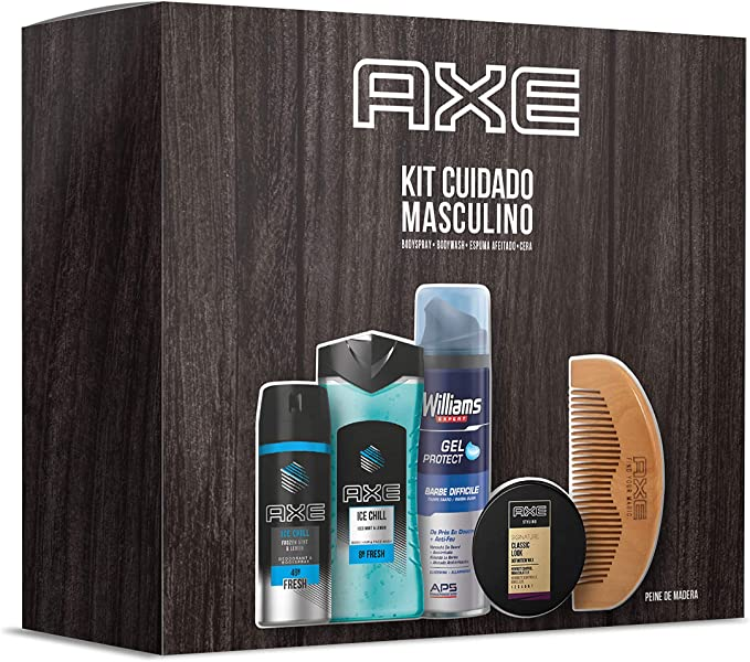 Axe Pack Rutina con Peine Bodyspray Ice Chill 150 ml + Gel de ...