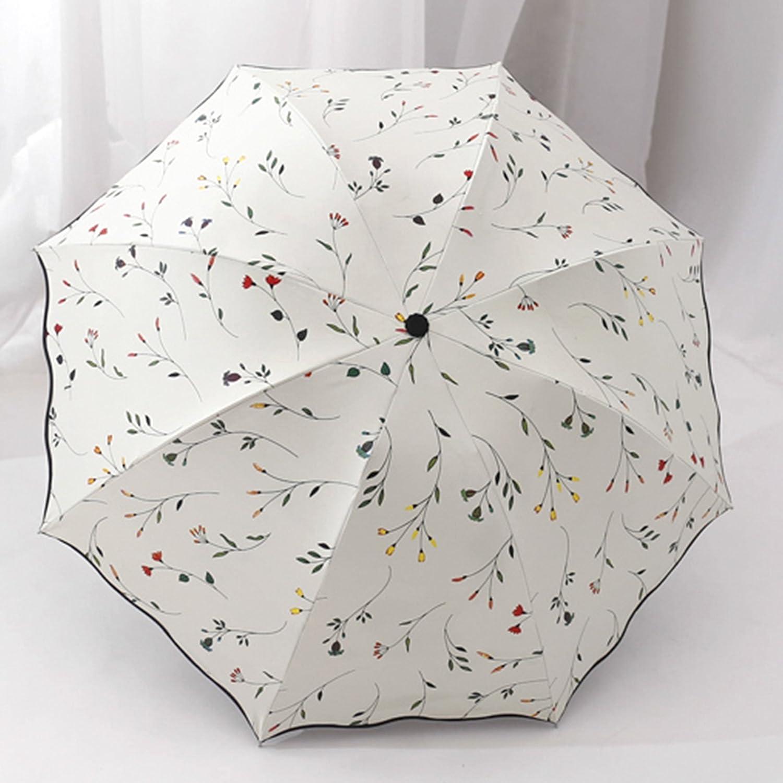 cheap GKRY Fashion Art Umbrella/Windproof Travel Umbrellas/Folding Umbrella/for Business and Travels/SPF 124+ SUN RAIN Umbrella/RAIN Umbrella The ultra fine umbrella blue sky.