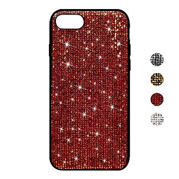 BoRan Funda iPhone 7, Carcasa iPhone 8 Case Glitter Lujosa ...