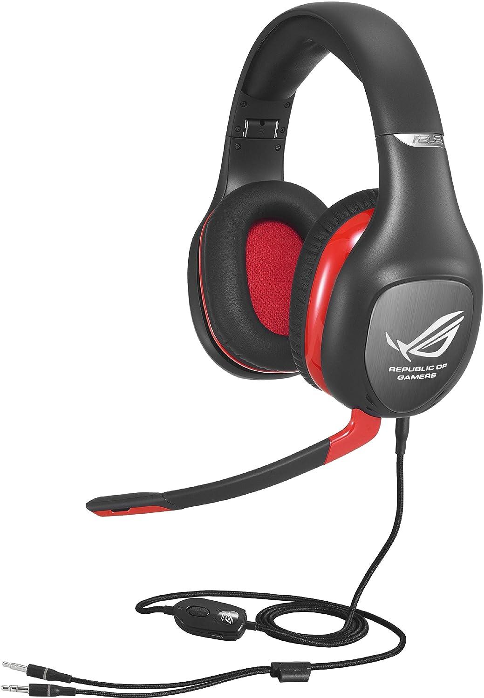 Asus ROG Vulcan Pro Gaming Headset schwarz/rot: Amazon.de: Computer ...