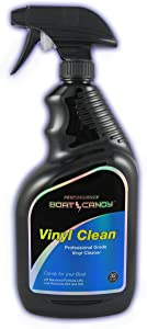 Boat Candy Vinyl Clean - Ph Balanced Vinyl/leather Cleaner (32 oz. Spray Bottle)