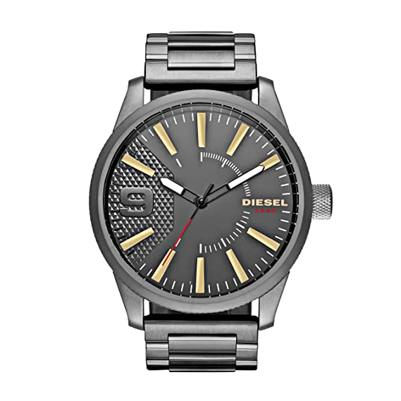f4876eeaaa86 DIESEL Rasp - Reloj de pulsera  Amazon.es  Relojes