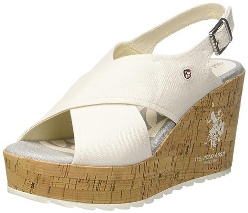 Sandales pour Femme Bleu Marine U.S.Polo Romy Chaussures Chaussures femme