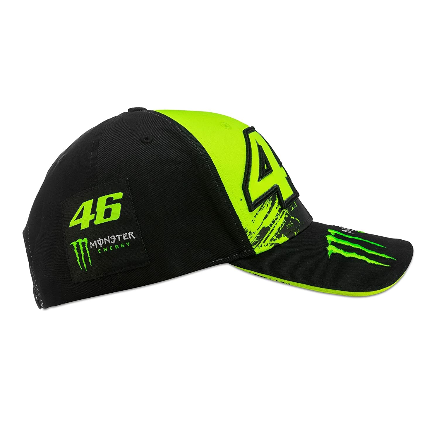 Valentino Rossi VR46 Moto GP Monster Energy Replica Berretto Ufficiale  2018  Amazon.it  Sport e tempo libero 3bb7f55265ba