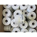 5x Brother Replacement DK22205 Printer Labels 62mm Roll + Spool 4 QL-810W QL810W
