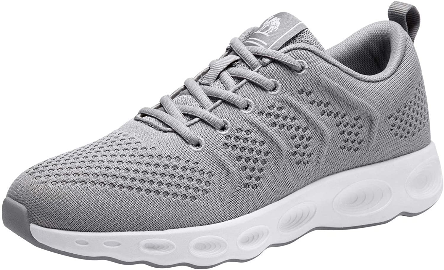 CAMEL CROWN Running Shoes Men Tennis Walking Trainning Trail Lightweight Comfortable Sneakers Athletic Gym Casual Footwear for Sports Outdoors Grey 11
