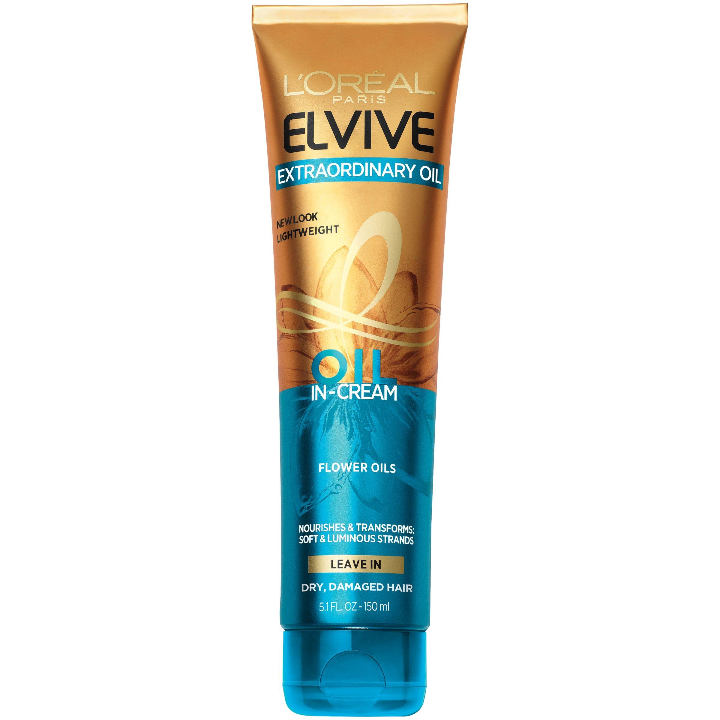 Amazon.com: Loreal Elvive Extraordinary Oil All Hair Types