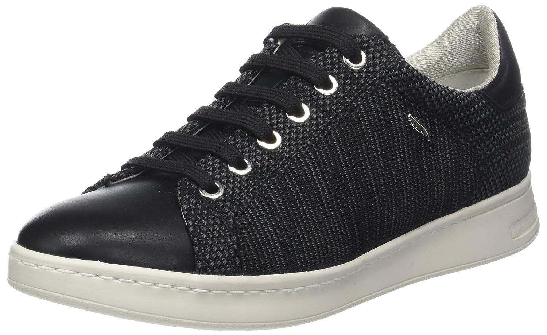 Geox Damen D Jaysen A Sneaker Schwarz (Black)