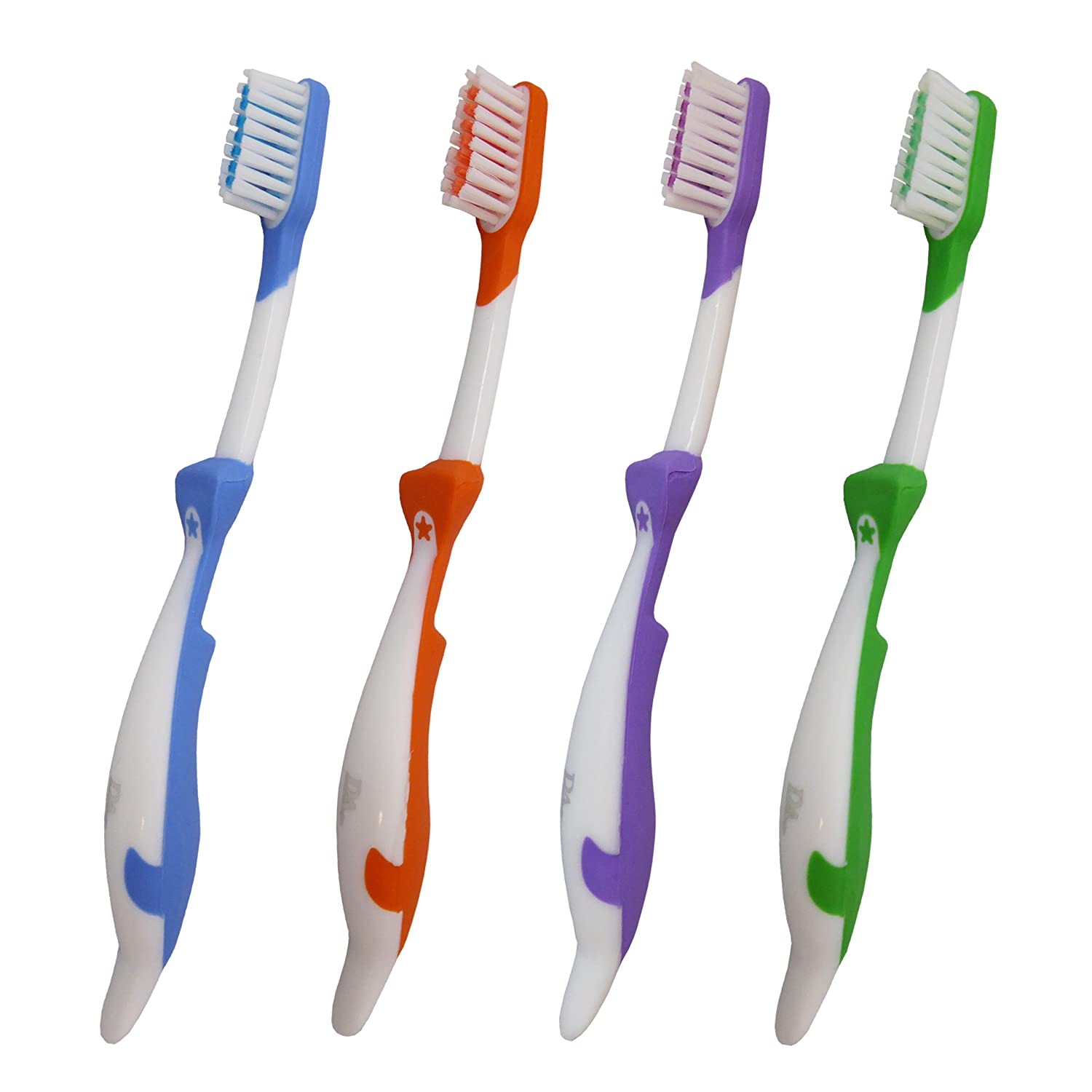 Childrens Toothbrushes Set Of 4 Orca Brushes For Brushing Kids Teeth