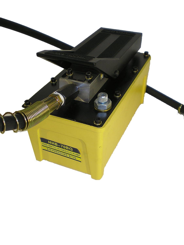 Luft betriebene Hydraulikpumpe 700 bar, 3200 cm3 Schlauch mit Kupplungstecker B-70BQ-32