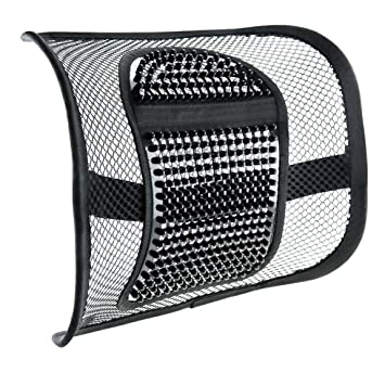 Mesh Lower Back Lumbar Seat Support VEY Breathable Comfortable Seating Cushion Covers For All Types