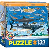 Sharks 100 Piece Jigsaw Puzzle