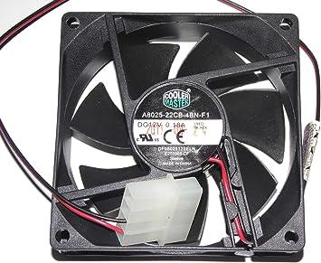 Cooler Master 8025 A8025 – 22 cb-4bn-f1 12 V 0,18 A df0802512seln ...