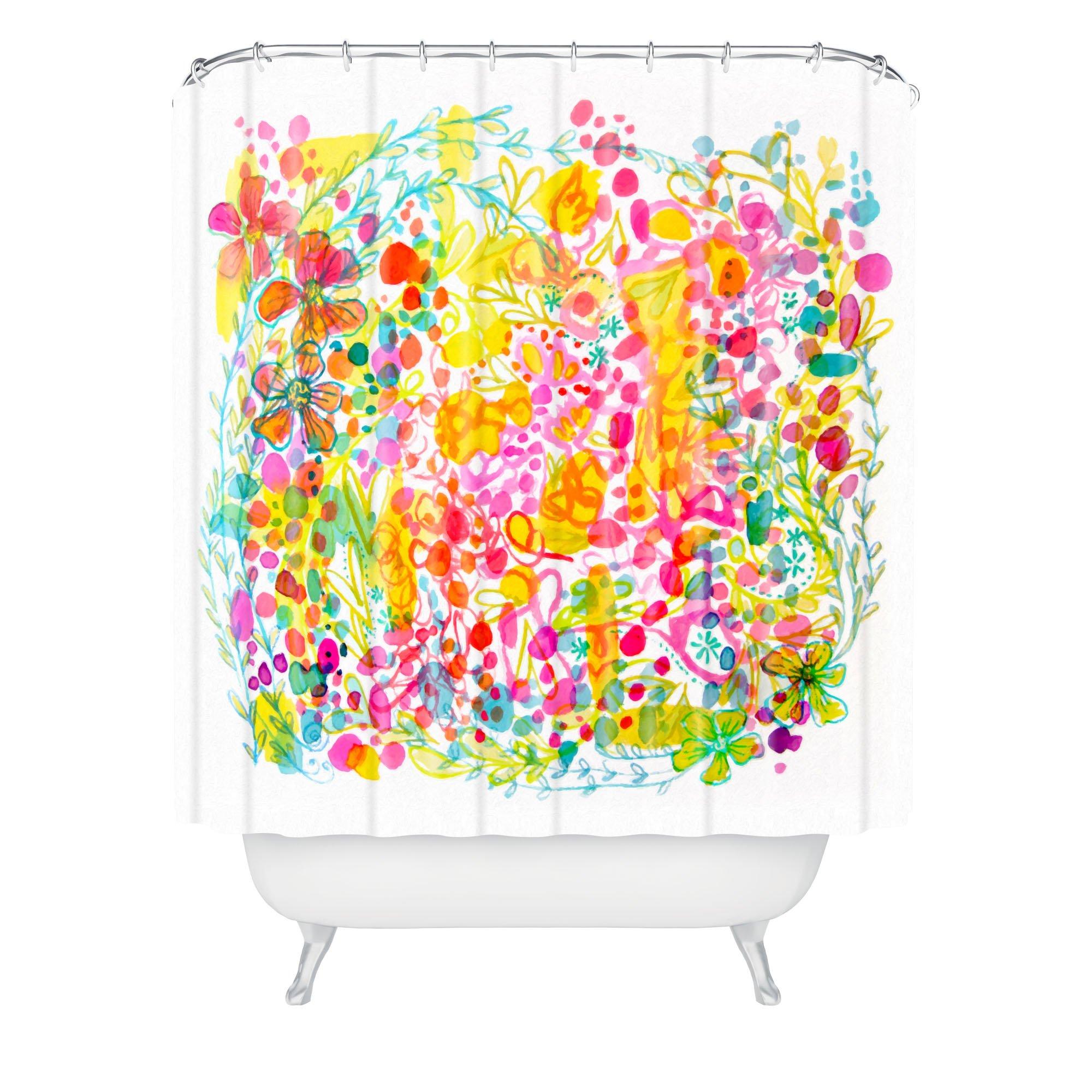 Deny Designs Stephanie Corfee Bubble Garden Shower Curtain, 69'' x 72''
