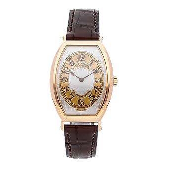 PATEK PHILIPPE Gondolo rosa dorado miel marrón/oro Dial marrón piel: Patek Philippe: Amazon.es: Relojes