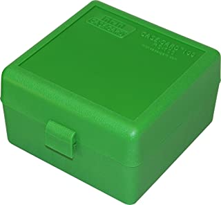 product image for MTM 100 Round Rifle Ammo Box 17, 204, 223, 5.56x45, 6x47