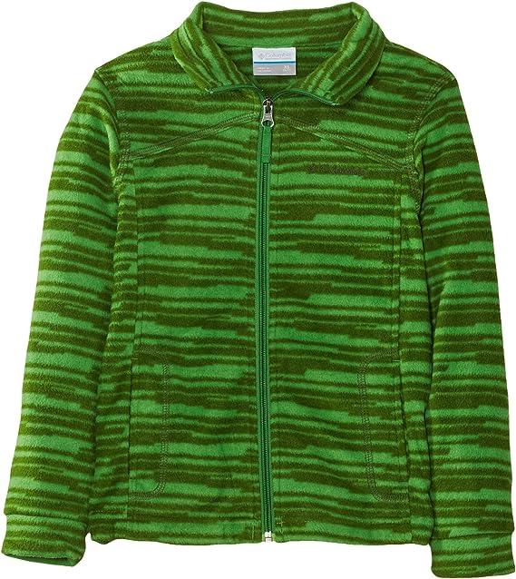 columbia fleece jacke grün