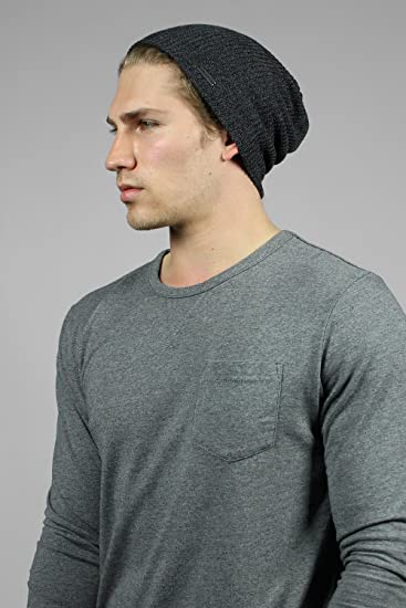 Men's Charcoal Summer Beanie from The Forte SU Available in 4 Shades of Grey by King & Fifth Supply Co.