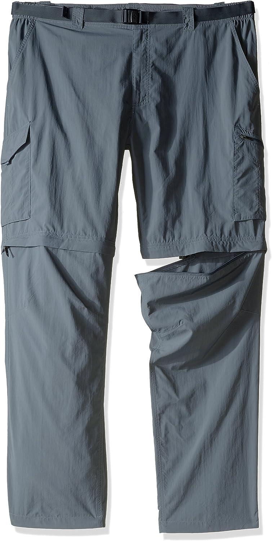 Columbia Mens Silver Ridge Convertible Pant UPF 50 Sun Protection Breathable