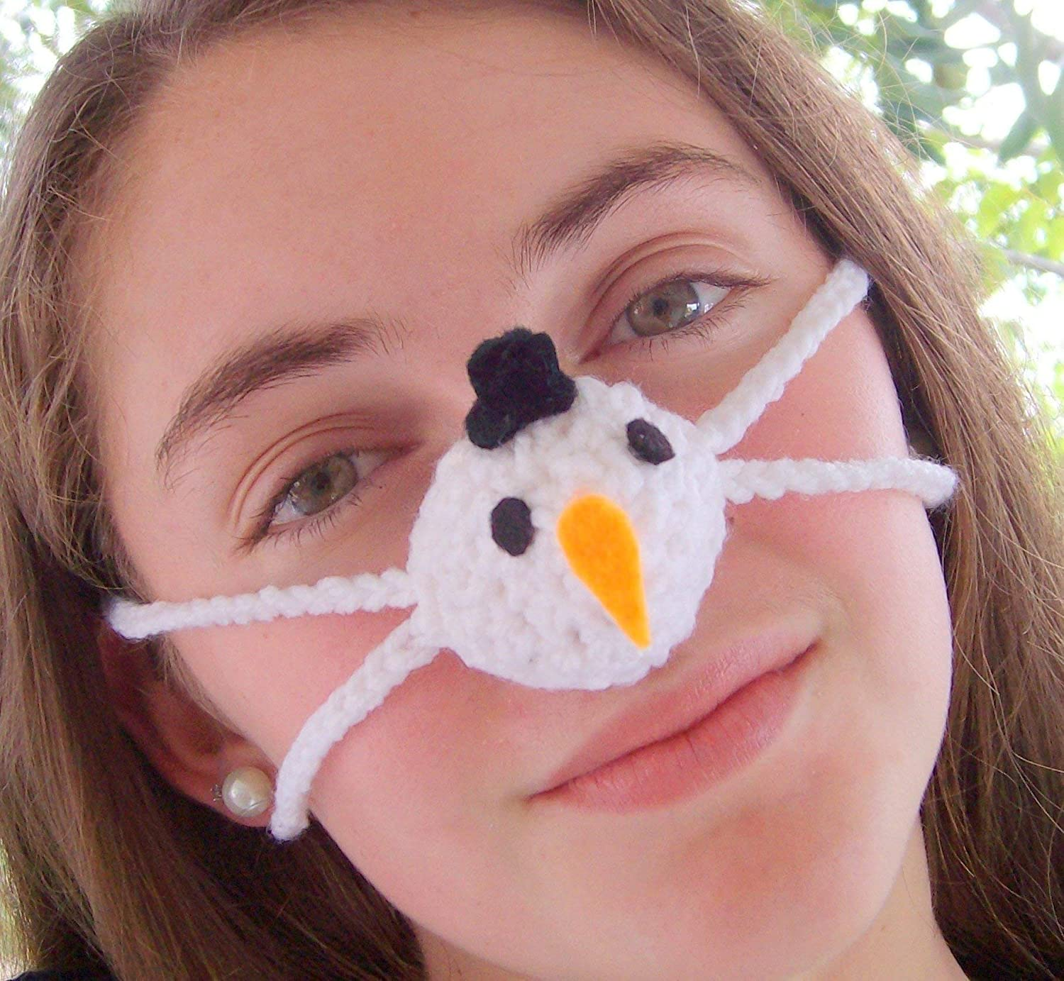 Snowman Nose - Nose Warmer by Aunt Marty's Original Nose Warmers