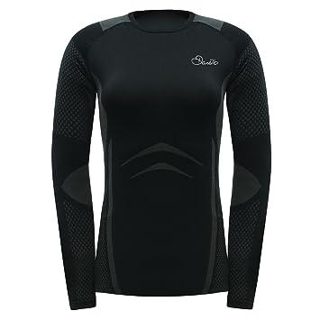 Dare 2b Zonal III camiseta de manga larga de la mujer, mujer, color negro
