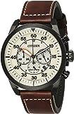 Citizen Herren-Armbanduhr XL Chronograph Quarz Leder CA4215-04W