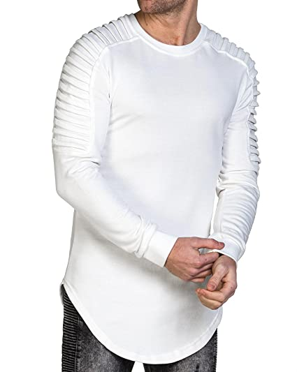 Uniplay , Sweat homme blanc oversize stylé , couleur Blanc