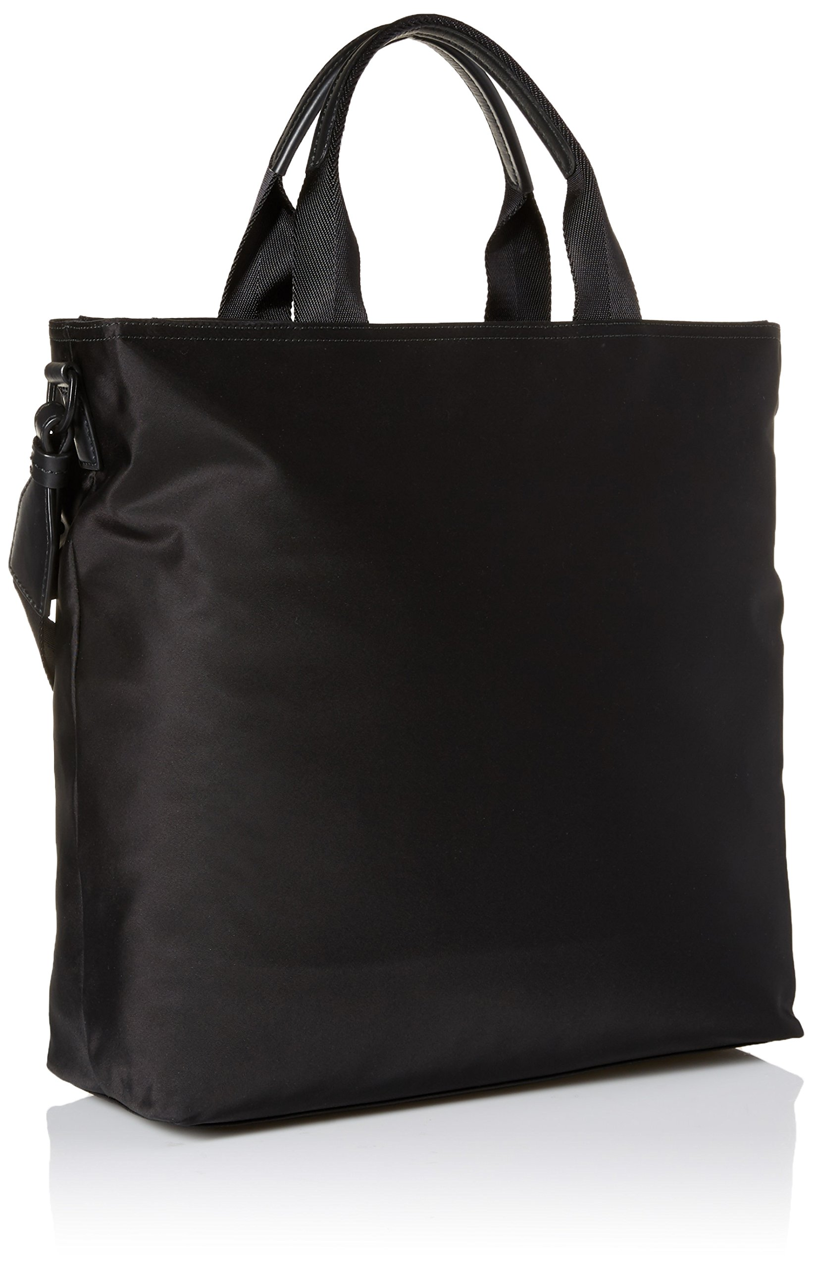 HUGO by Hugo Boss Men's Record Nylon Tote Bag, black, One Size by Hugo Boss (Image #2)