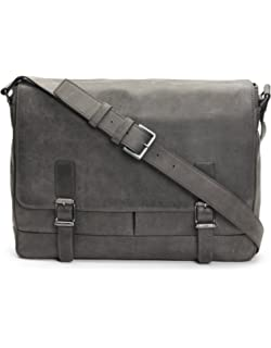 45713a5d8 Amazon.com: FRYE Men's Carter Messenger, Olive, ONE SIZE: Clothing