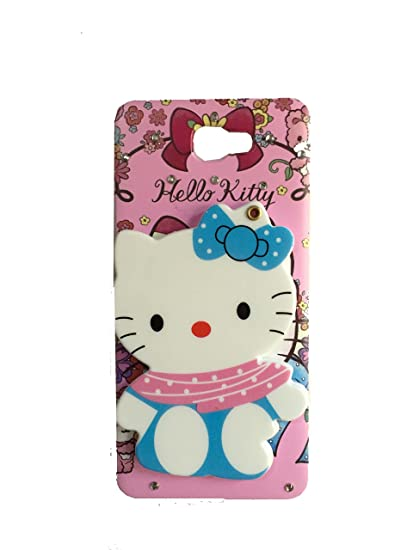 uk availability 7d68b 2ae0a Aarnik Mirror Soft Kitty Special Girl's Designer Back Case Cover for  Samsung Galaxy J7 Prime (Colours May Vary)