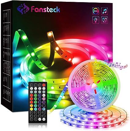 5m-30m LED Strip Streifen Lichtband mit Fernbedienung 44 Tasten RGB SMD5050