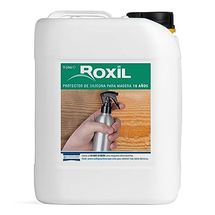 Roxil Protector de Silicona para Madera 10 Años (5 Litros)